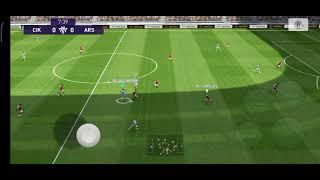 push rank online match game play pes 2021 #laga hangusssssssss