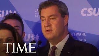 Angela Merkel's Conservative Allies Lose Ground In Bavarian Election | TIME