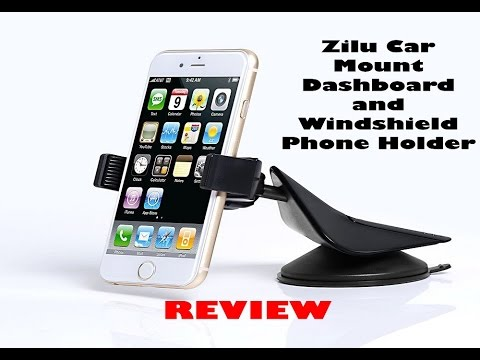 Zilu Car Mount Dashboard And Windshield Phone Holder Review