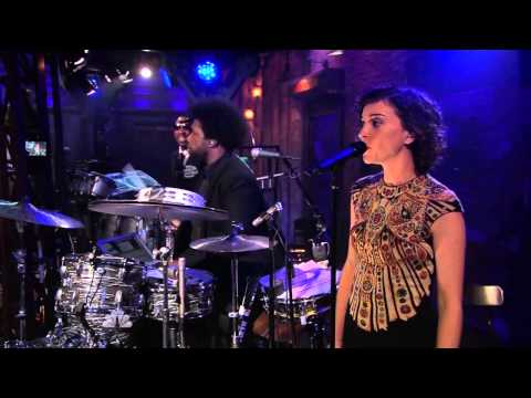 Kid Cudi and St. Vincent on Late Night with Jimmy Fallon