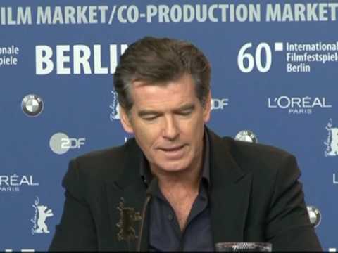 L'équipe du film de Polanski lui rend hommage à Berlin