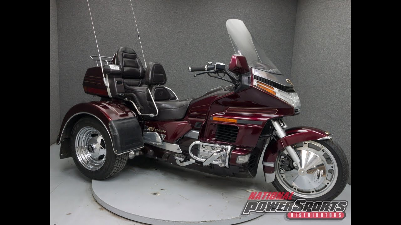 1989 honda gl1500 goldwing 1500 motor trike national powersports distributors [ 1280 x 720 Pixel ]