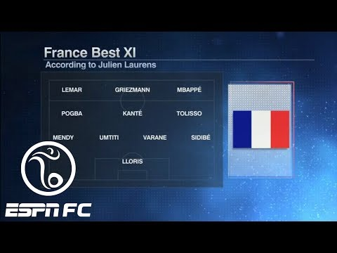 Projecting France's incredibly talented potential World Cup starting XI | ESPN FC