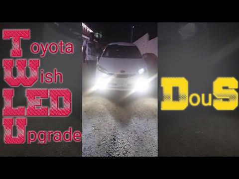 Toyota Wish Pimped Out With Our DuoS LED Fog/Bumper Light Kit