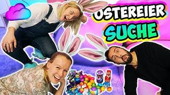 OSTEREIER SUCHE 2019 in der WOLKE mit Kathi, Kaan & Nina - Wer findet die meisten Eier & Schokolade?