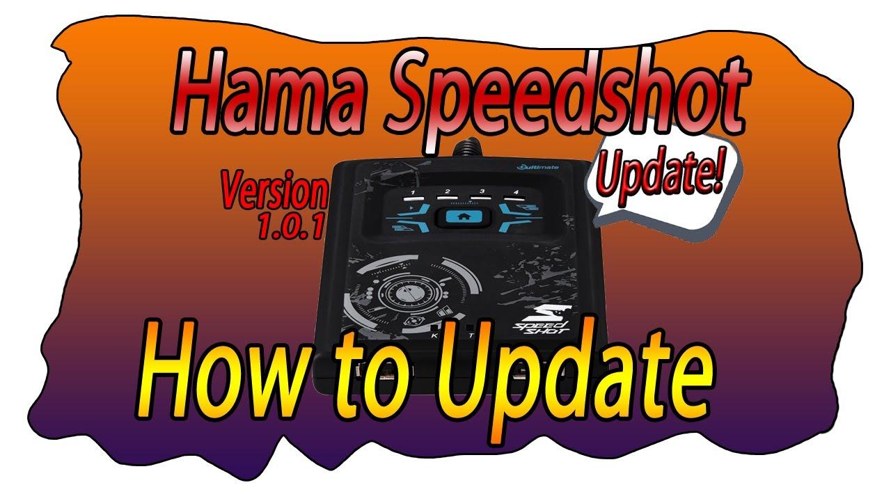 How To Update Hama Speedshot Tutorial Review Deutsch