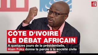 Présidentielle en Côte d'Ivoire : voter ou pas, la voix de la société civile #LeDébatAfricain