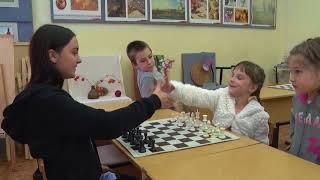 Ход конем. Обучение шахматам для детей проводят в доме детского творчества