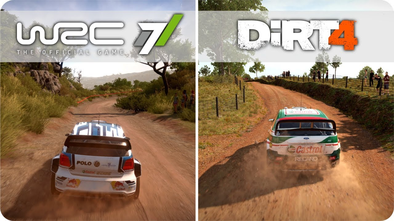 pc graphics comparison wrc 7 vs dirt 4 ultra settings youtube. Black Bedroom Furniture Sets. Home Design Ideas