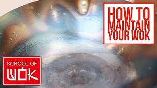 How to Clean a Wok