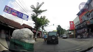 Timelapse Jalan Tambakromo - Pati Pulang Pergi Siang dan Malam Hari via Ngantru Gabus