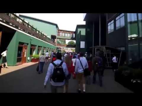 Walkthrough of Wimbledon All England Lawn Tennis and Croquet Club