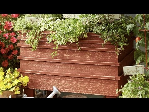 How to Build a Raised Garden Bed - Portable Version