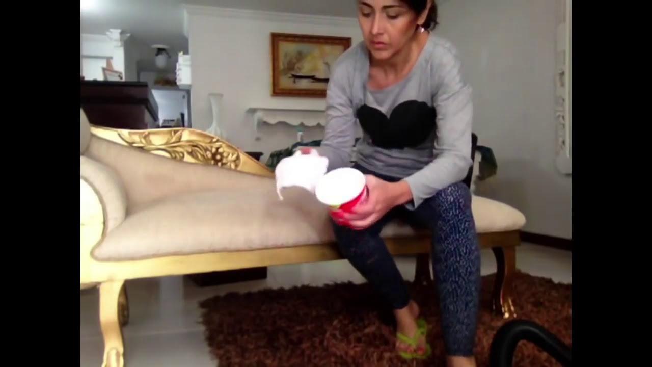 Noti tips c mo limpiar tus muebles de tela youtube - Como limpiar muebles ...