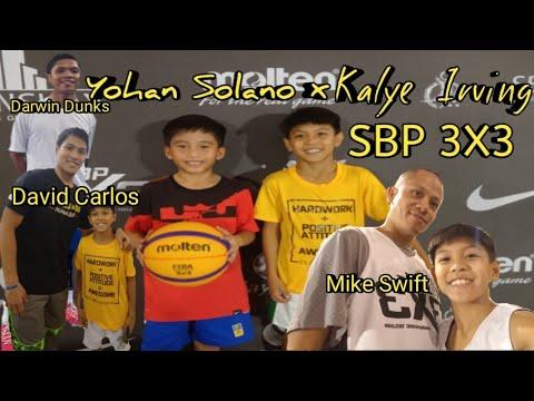 Kalye Irving at Harrison Plaza  SBP Samahang Basketbol ng Pilipinas 3x3 with Yohan Solano