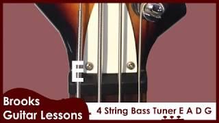 4 string bass tuner eadg