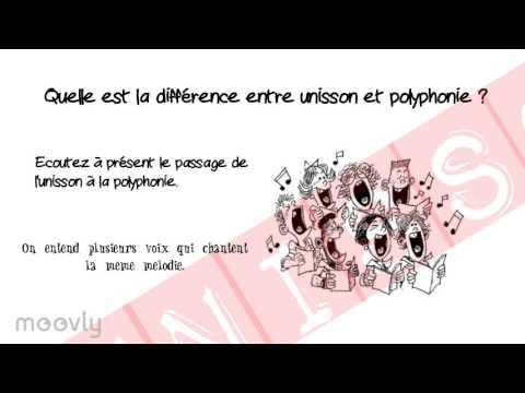 Unisson et polyphonie