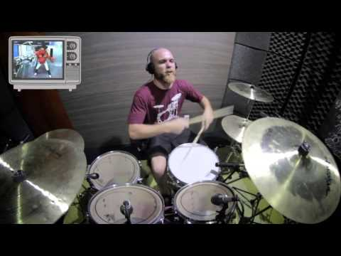Jaspion abertura - 1988 (Adson Lisboa - Drum cover)
