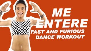 Me Entere - Daddy Yankee ft.Tito El Bambino | Fast and Furious Zumba Dance Workout for weight loss