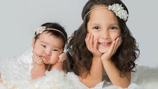 INFANT PHOTOGRAPHY at home with portable studio lighting setup, BABY photography VLOG 012