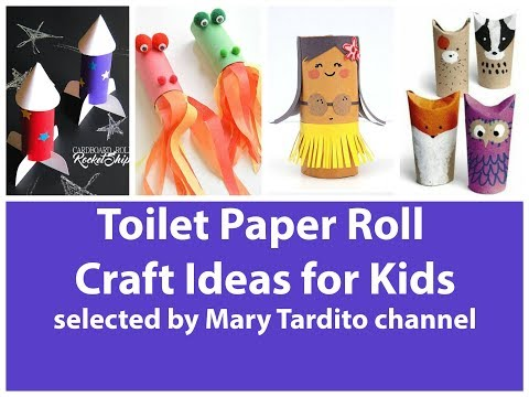 Toilet Paper Roll Craft Ideas for Kids - Recycled Kids Crafts