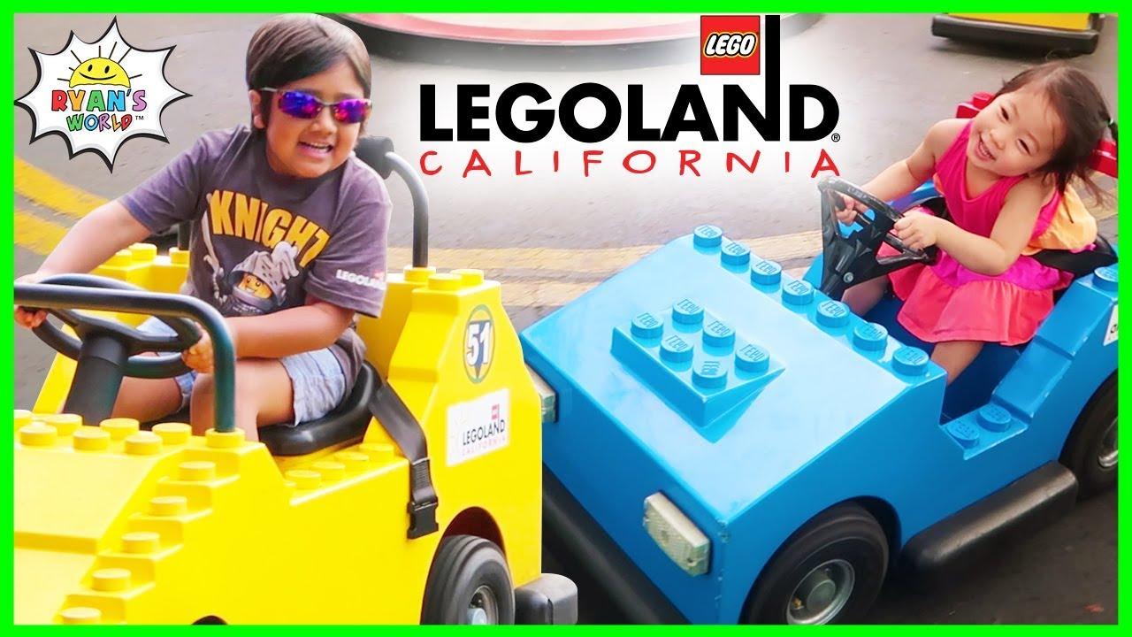Download Legoland Amusement Theme Park Rides for Kids with Ryan's World!!!