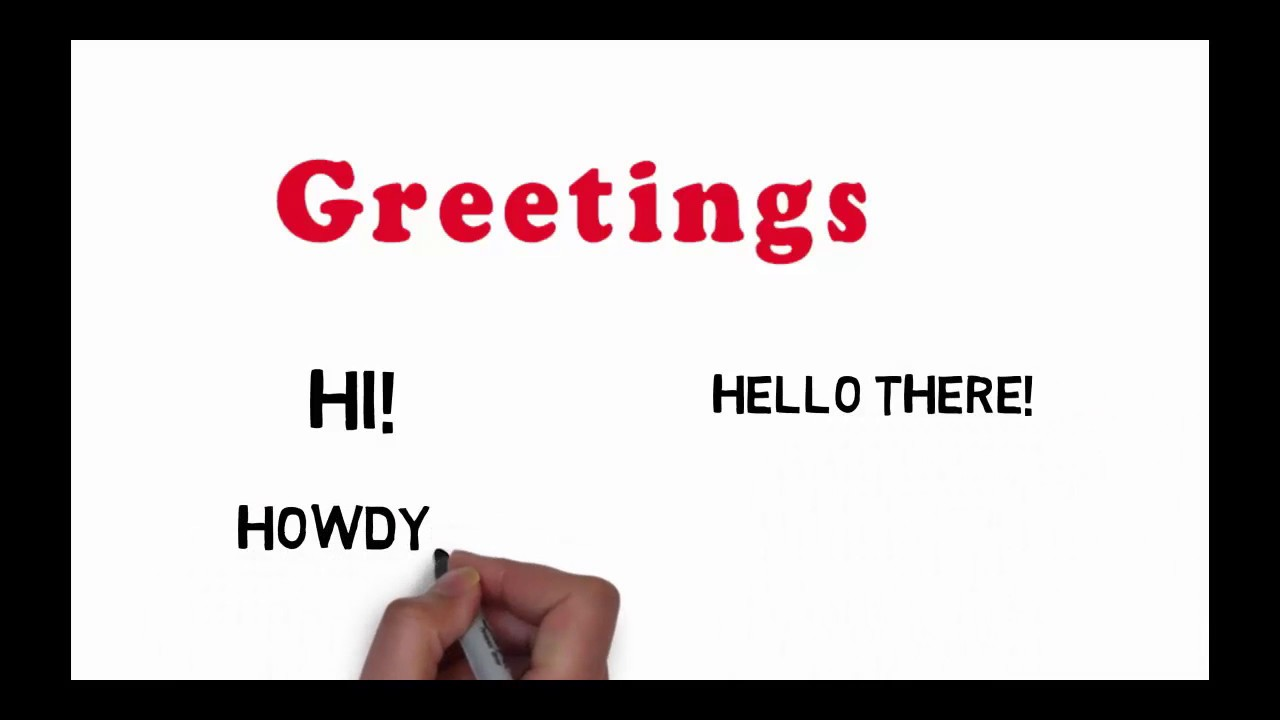 English common greetings for beginers daily useful greetings youtube english common greetings for beginers daily useful greetings m4hsunfo