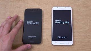 Samsung Galaxy A3 2017 vs Galaxy J5 2016 - Speed Test!