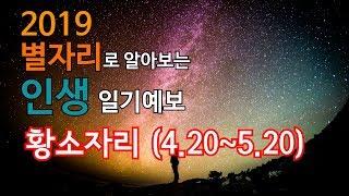 【운칠기삼】 2019 #별자리로 알아보는 인생 #일기예보 - #황소자리