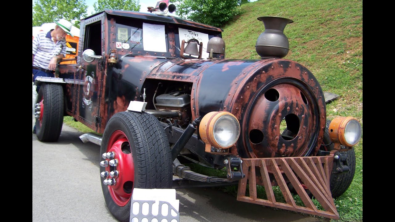 Rat Rod Locomotive Youtube