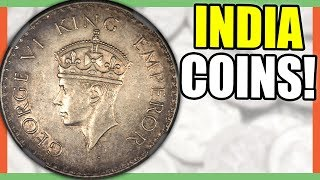 10 INDIA COINS WORTH MONEY - VALUABLE WORLD COINS!