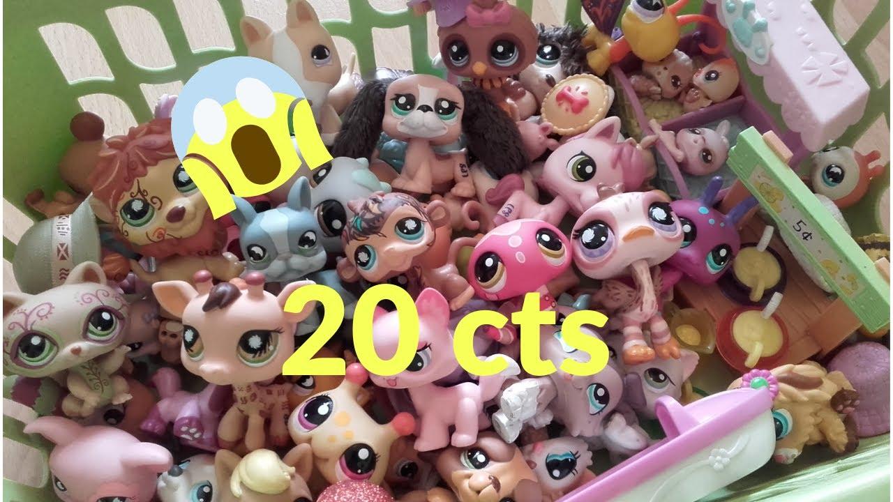 Retour de Brocante, 20 centimes le Petshop !!! 58 nouveaux ...