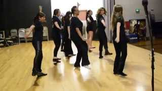 HTDC does Addams Family Groove @ Tribute to the Schools Show