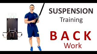 back suspension exercises 15mins w the bow trx rip60 or equivelent