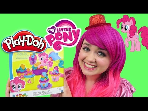 Play-Doh My Little Pony Pinkie Pie Cupcake Party | TOY REVIEW | KiMMi THE CLOWN