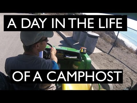 A Day in the Life of a Campsite Host - SUMMER LIVING AT THE BEACH FOR FREE!