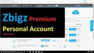 Zbigz Premium  Account for TORRENT to IDM