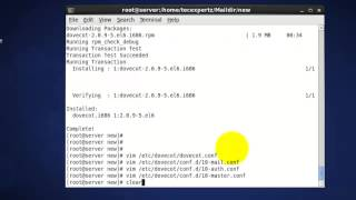 Setup Postfix Server step by step in CentOS