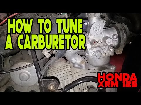 How to Tune a Carburetor | Pag Tono ng carburador | Honda XRM125