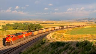 HD: Cross Country Road Trip Railfanning in September 2016