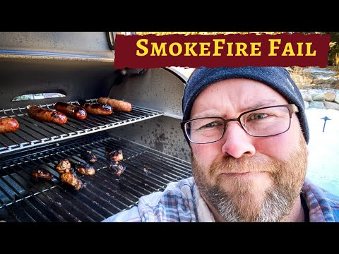 SmokeFire EX6 1st Cook FAIL - How did it Happen?
