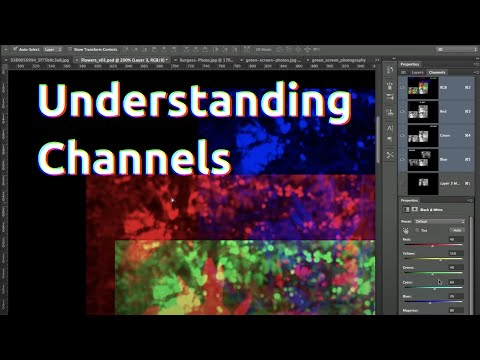 Understanding Channels In Photoshop