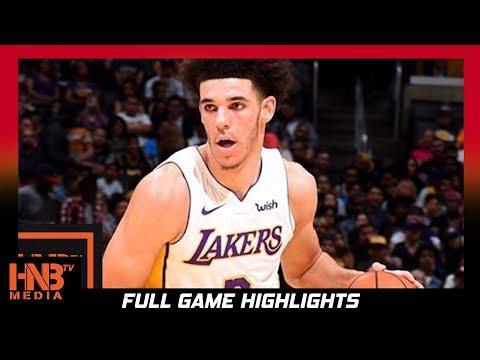 Los Angeles Lakers vs Portland Trail Blazers Full Game Highlights / Week 3 / 2017 NBA Season