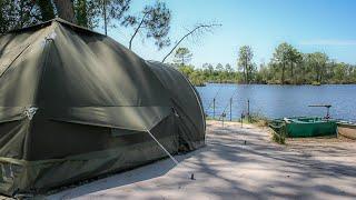 Karsten Air tent 220 crab 設置動画