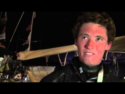 Artemis Offshore Academy skipper Jack Bouttell is first British Solitaire du Figaro Rookie winner