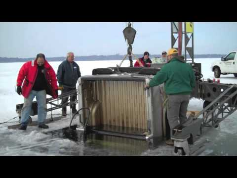 Bringing up a truck that has gone through the ice - Brainerd Dispatch MN