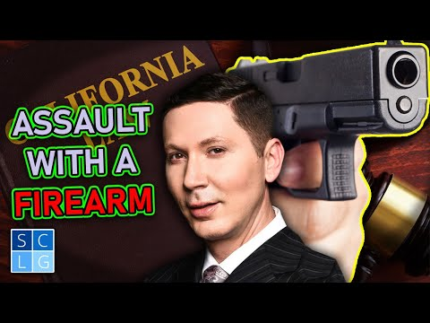 Assault with a Firearm | Legal Analysis of Penal Code 245(a)(2)