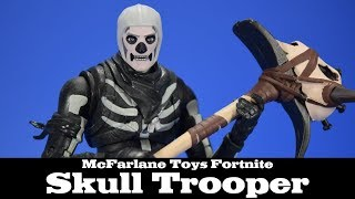 Fortnite Skull Trooper McFarlane Toys Action Figure Review