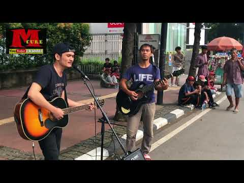 Pengamen Tampan Cover Lagu ANJI   Menunggumu - Full Melody Akustik