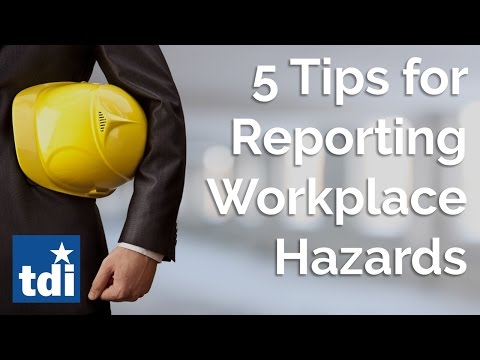 5 Tips For Reporting Workplace Hazards   Division Of Workers' Compensation